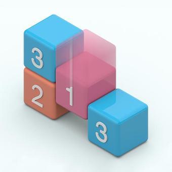 放置塊:數字拼圖