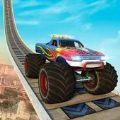 怪物卡車巨型坡道特技
