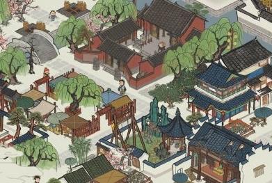 《江南百景圖》全綠布局怎么擺