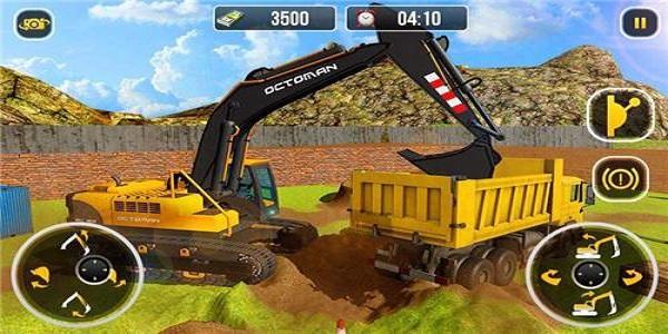 模擬挖掘機挖土的游戲合集